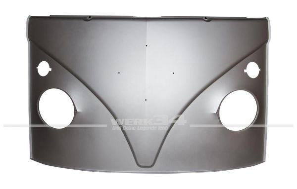 Frontmaske ohne Scheibenrahmen, passend für T1 Bus 08/63-07/67, Nachfertigung