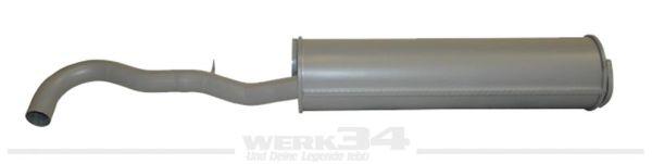 Schalldämpfer passend für CT und CZ von 08/80-12/82