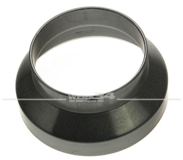 Adapter Warmluftschlauch, Ø ca. 100 mm auf ca. 75 mm