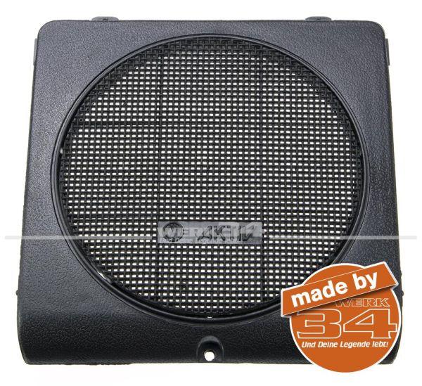Lautsprecherblende, schwarz, passend für Golf II / Jetta II