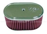 K&N-Luftfilter, 100 mm hoch
