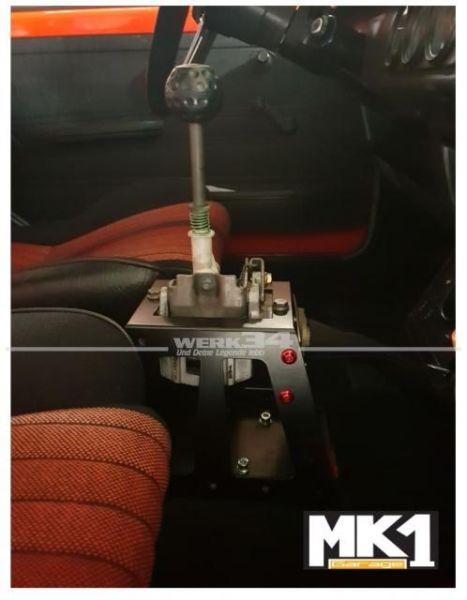Schaltturm - Schalterhöhung für Seilzuggetriebe, passend für Golf I