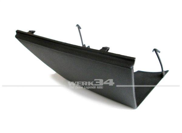 Abdeckung für Abschleppöse Golf III, schwarz