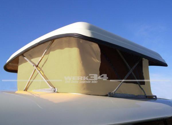 Zelt für Westfalia Hubdach, passend für Modelle von 08/63-07/67, beige