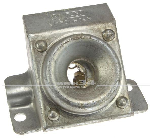 Klappenschloss-Unterteil hinten, Typ 3 TL ab 08/65