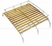 Dachgepäckträger Westfalia-Style Nachfertigung in spitzen Qualität, passend für T1 + T2, mit 3 Bögen