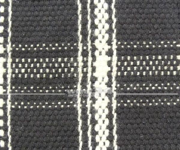 Bezugsstoff schwarz/ weiss, Version 2 , Grundpreis: 49,28 EUR pro m2
