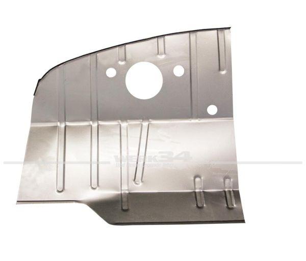 Reparaturblech Fußraum vorderes linkes Drittel, passend für Modelle von 08/67-07/72