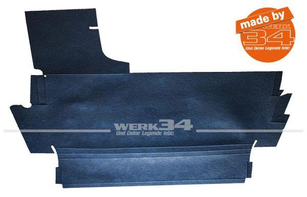 Kofferraumpappe oben, passend für 1303 Cabrio und Limousine Käfer,Kofferraumpappe