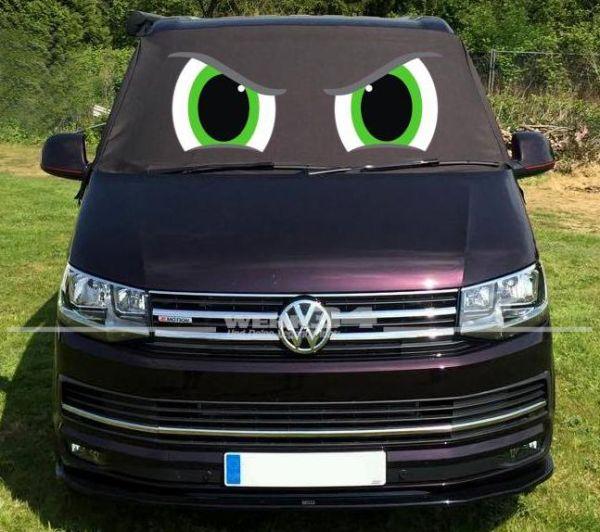 """Fahrerhaus Sonnenschutz """"Angry Eyes"""", passend für Bus T6"""