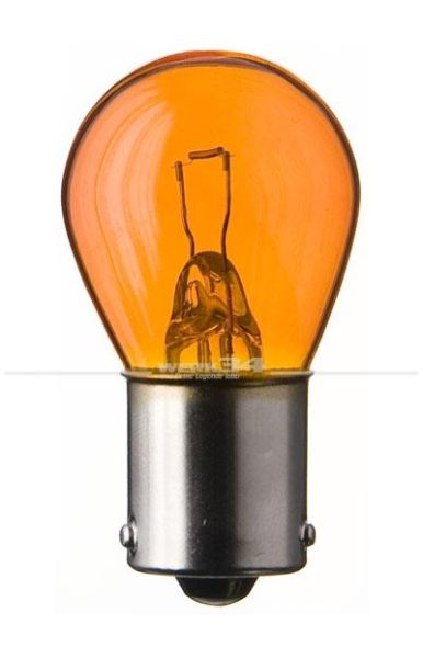Glühlampe orange,12V 21 Watt, Sockel BA15s