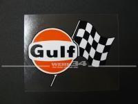 """Aufkleber """"Gulf"""", klein"""
