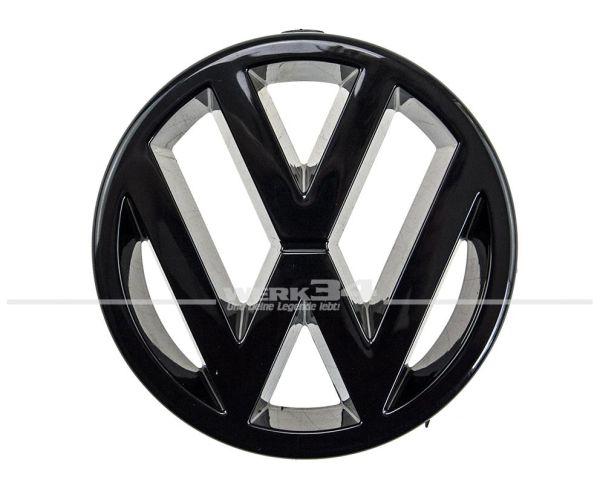 Marken-Emblem vorn schwarz, z.B. Golf I Cabrio, Golf II, Golf III