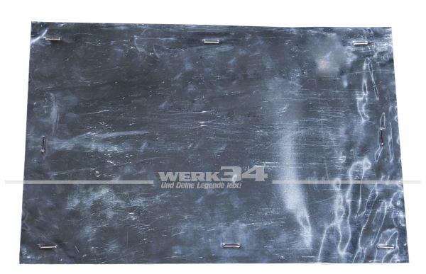 Hitzeschutzblech universell, Alu isoliert, ca. 50x33cm