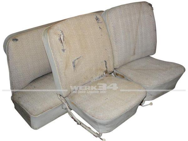 Sitzausstattung ohne Kopfstützen bis 07/65, gebraucht