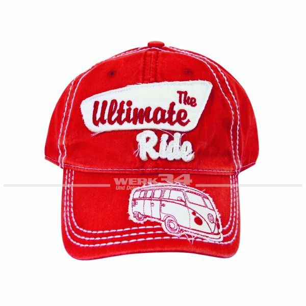 "VW Bulli Cap ""The ultimate ride"" Jeans rot"