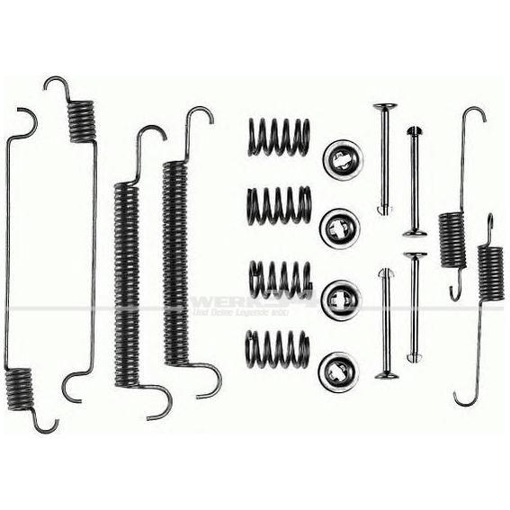 Anbausatz für Bremsbacken, hinten, passend für Bus T4