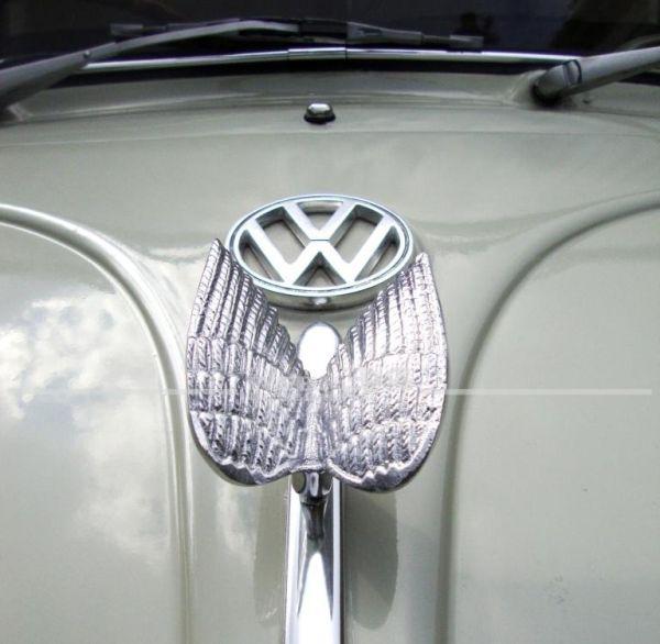 """""""Phönix Flügel"""" Emblem, Aluminium"""