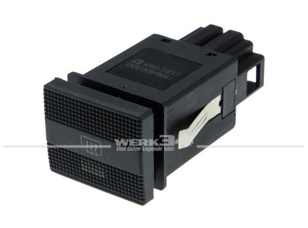 Schalter für Heckscheibenheizung Golf III / Vento