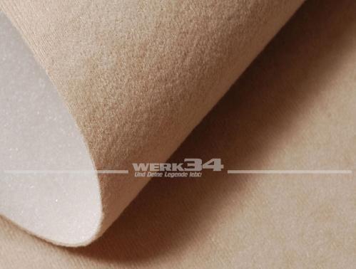 Bezugstoff / Himmelstoff, beige, für Westfalia Klappdach z.B. passend für Bus T3