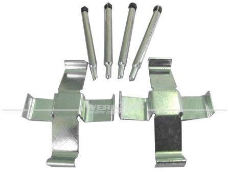 Montagesatz für ATE Bremsbeläge, passend von 08/72-07/86