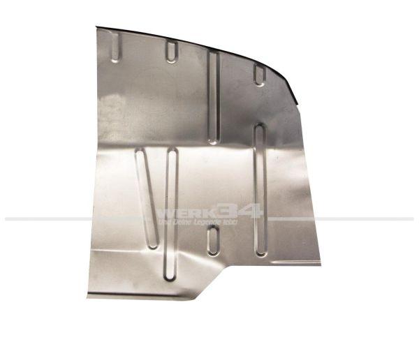 Reparaturblech Fußraum vorderes rechtes Drittel, passend für Modelle von 08/67-07/72