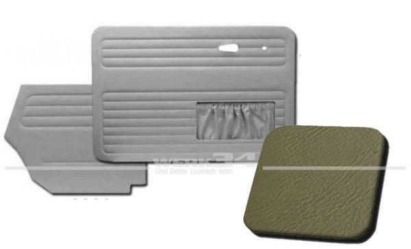 Verkleidungssatz 4-tlg. in Farbe grau, passend für alle Cabrio ab Bj. 8/66-7/72