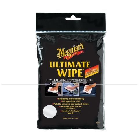 Meguiars Lackpflege Mikrofasertuch Ultimate Wipe