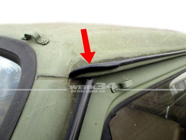 T3 Endstück Regenrinne Abdeckung vorne links / hinten rechts