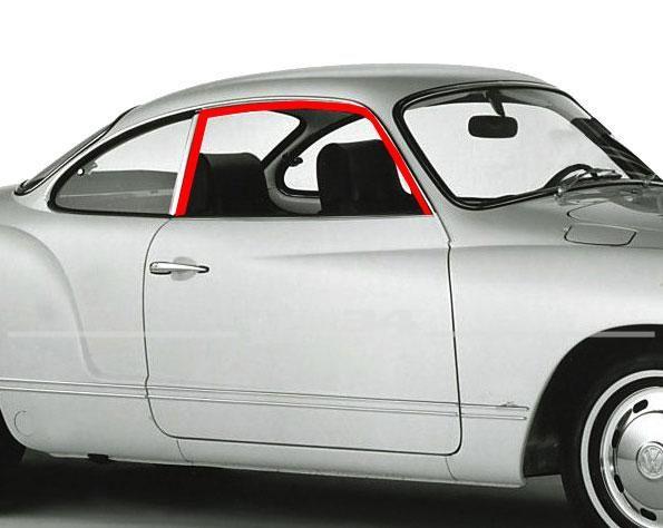 Satz Türfensterdichtungen für rechts und links, passend für Modelle ab 08/71
