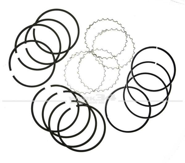 Satz Kolbenringe (für alle vier Kolben) mit Ölabstreifringen, 83 mm, 1,5 x 1,5 x 4 mm