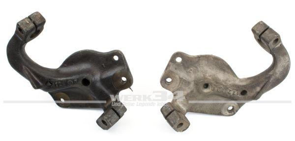 Paar Trommelbremsachsschenkel, passend für Modelle bis 07/65 original Teile/NOS