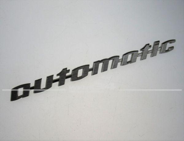 "Schriftzug ""automatic"", Typ 4, Typ 3 & Typ 34"