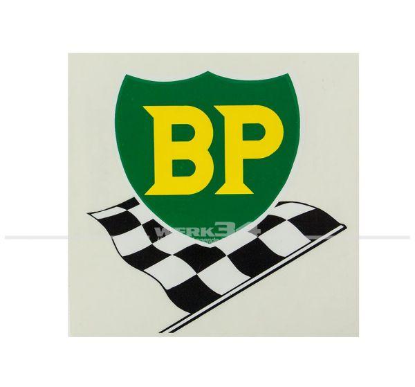 """Aufkleber """"BP"""", klein"""