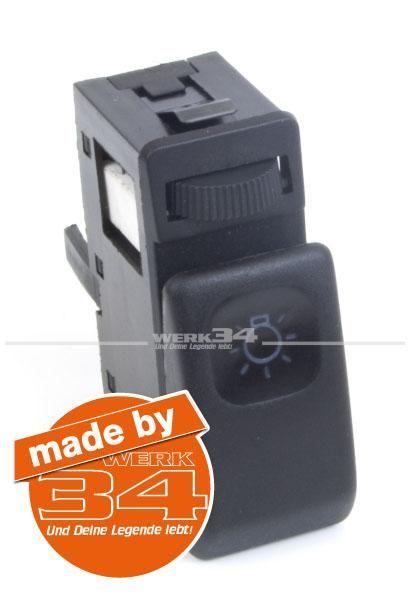 Lichtschalter, passend für Golf II