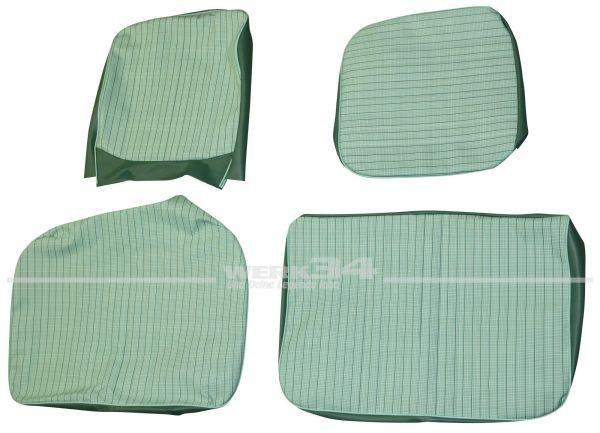 Sitzbezüge für Fahrer- und Beifahrer Doppelsitz mit Rückenlehne