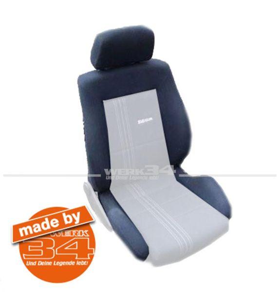 Bezugsstoff GTI Edition One, für Sitzwange, dunkelblau, Grundpreis: 65,50 EUR pro m2