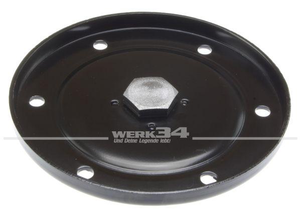 Deckel mit integrierter Ablassschraube, original Teil, passend für alle 25 bis 37kW (34 bis 50 PS) Motoren