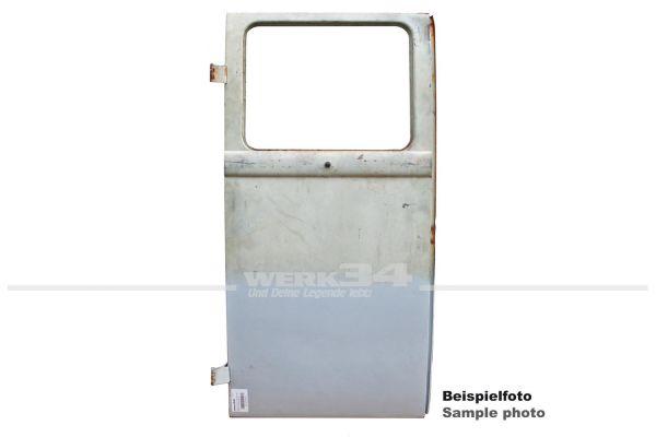 Ladetür links mit Fensterausschnitt, passend bis 1960, gebraucht