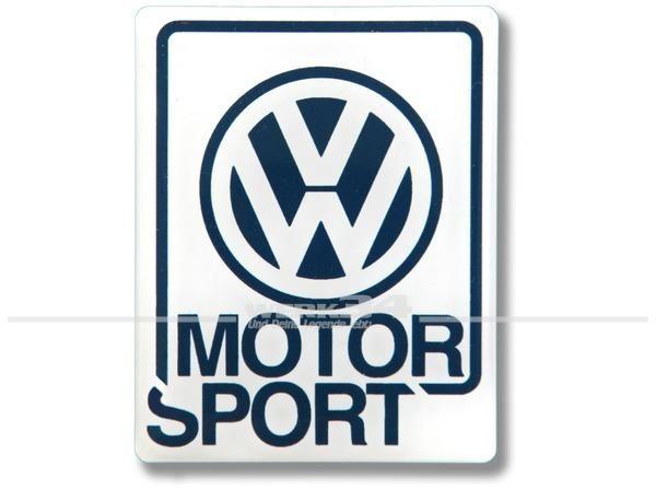 Aufkleber VW Motorsport groß