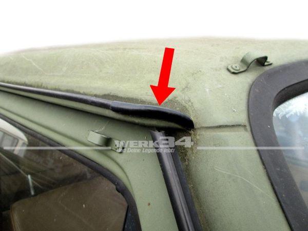 T3 Endstück Regenrinne Abdeckung vorne rechts / hinten links