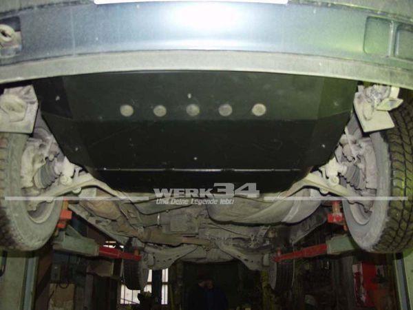 Unterfahrschutz, passend für Bus T4, 2mm Stahl