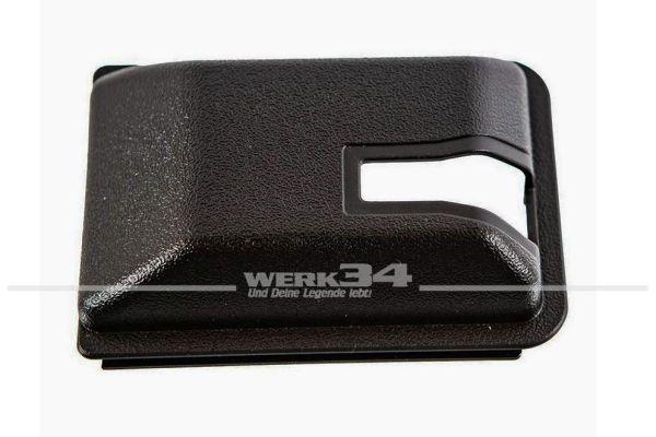 Abdeckung Schiebetür, schwarz, vorne innen, passend für Bus T3 ab 08/84