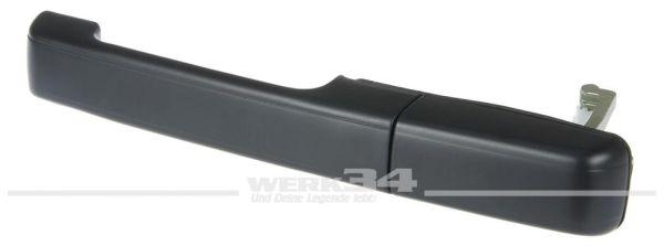 Türgriff, hinten links, schwarz, passend für Passat 88-93